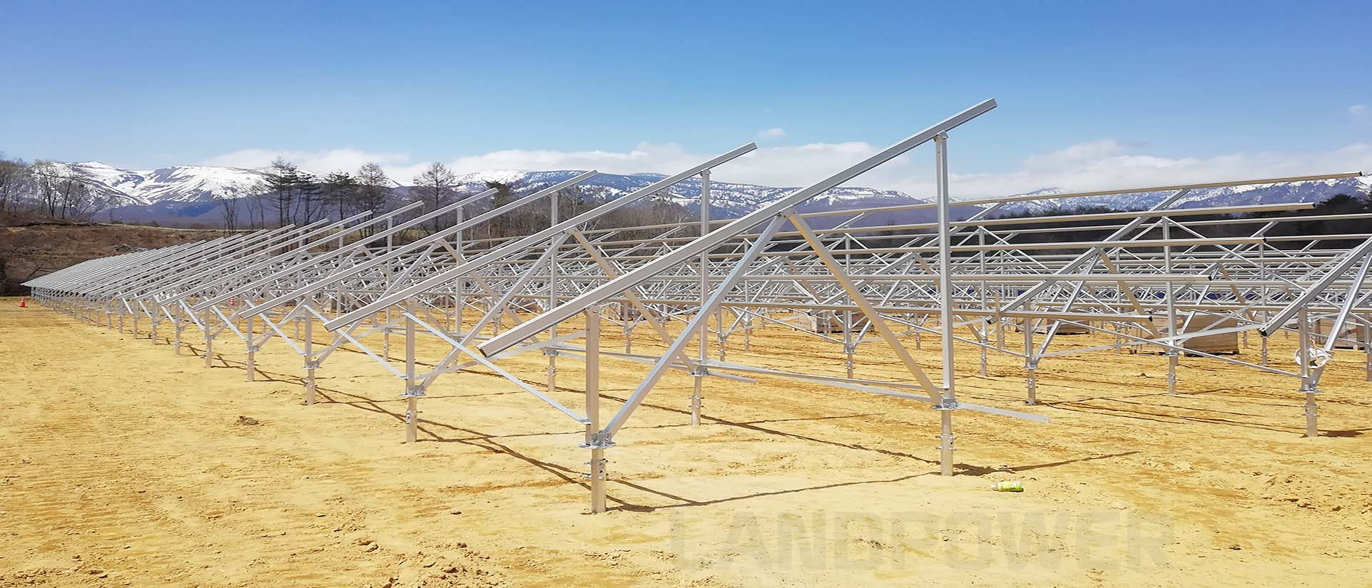 Aluminium Ground Mounting Structure